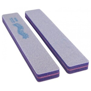 "Disinfectable Purple Sponge Board Nail Files - 100100 Coarse - 1-18"" Jumbo 750 Mega Case (10076-cs)"