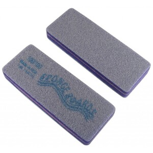 "Disinfectable Purple Sponge Board Nail Files - 100100 Coarse - Block Shape 1-38"" x 3-58"" 1200 Mega Case (10080-cs)"