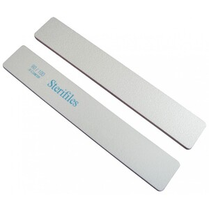 "Disinfectable Sterifiles Nail Files - 80100 Mylar - Plum Center - 1 18"" Wide Jumbo 1400 Mega Case (10091-cs)"