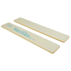"Disinfectable Sterifiles Nail Files - 180240 Mylar - Peach Center - 1 18"" Wide Jumbo 1400 Mega Case (10093-cs)"