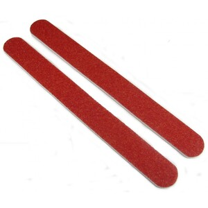 Disinfectable Red Rainbow Mylar Nail Files - 8080 2000 Mega Case (10017-cs)