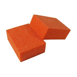"Disposable Mini Orange BuffingBlock 1"" x 1.3"" 150 Grit 1500 Mega Case (10191-cs)"