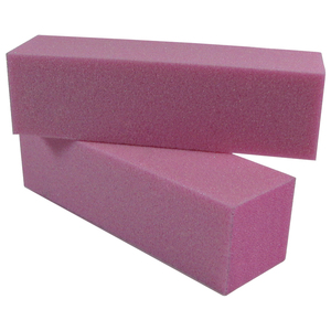 "Pink Manicure Block with Glitter 3-34x1116x1116"" 500 Mega Case (10098-cs)"