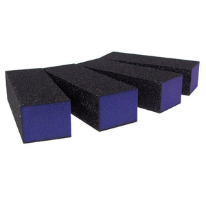 Purple Block - CoarseMedium 100180 Grit - 3-sided 500 Mega Case (10052-cs)