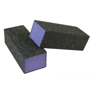 "Purple Pedicure Block X-Coarse 60 Grit 3-14"" - 4-Way 500 Mega Case (10124-cs)"