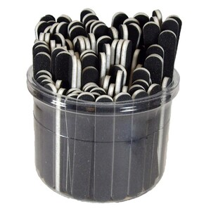 "Black 100180 3-12"" Mini File Bucket 100 Count (10161)"