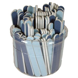 "Blue 120240 3-12"" Mini File Bucket 100 Count (10164)"