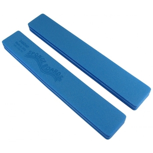 "Disinfectable Blue Sponge Board Nail Files - 240240 Fine - 1--18"" Jumbo Pack of 25 (10078-25)"