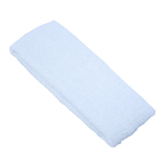 "Elastic Terry Headbands - White 100% Terry Cotton with Elastic - 2.5""X 7"" 1 Dozen (5HB30WH)"