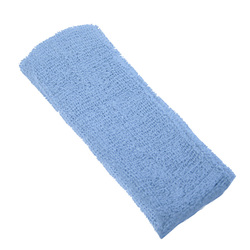 "Elastic Terry Headbands - Sky Blue 100% Terry Cotton with Elastic - 2.5""X 7"" 1 Dozen (5HB30RE)"