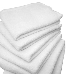 "Egyptian Cotton Wash Cloths - 1 Dozen - 13"" x 13"" - White 100% Egyptian Ring Spun Cotton (1WC20WH)"