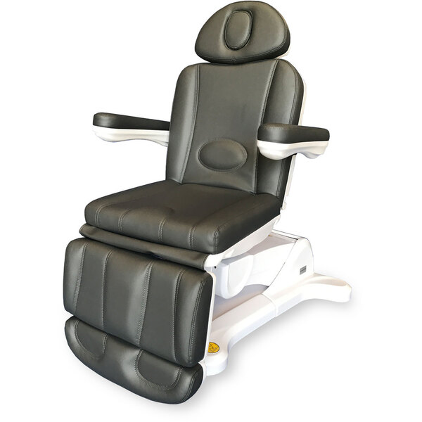 Adda+ 4-Motor Electric Esthetics - Podiatry Chair - Ironside Gray Upholstery (2246B)