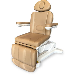 Adda+ 4-Motor Electric Esthetics - Podiatry Chair - Brandy Tan Upholstery (2246B)