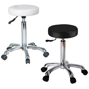 "Maia Round Hydraulic Stool 20""-26"" Height (1023A)"