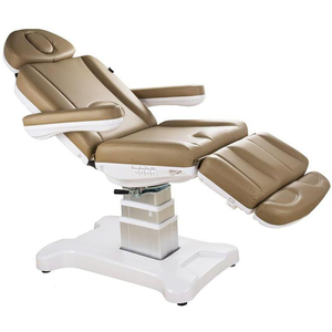 The Petra Medical-Esthetics-Podiatry Treatment Chair Sand Upholstery (2246D-A33)