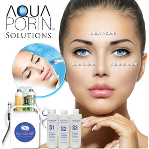 Aquaporin Liquid Facial Solutions - For Use in Liquid Facial Systems Choose from Aquafoliation (S1) Aqua-T-Zone (S2) and Aquafusion (S3) ()