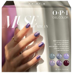 OPI GelColor Soak Off Gel Polish - GC296 Muse of Milan Add-On Kit #2 - 6 Pieces (GC296)