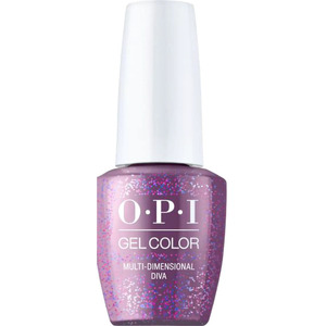 OPI GelColor - #GCE04 - Multi-dimensional Diva - High Definition Glitters Collection 0.5 oz. (15435)
