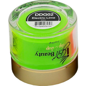 iGel Dip & Dap Powder - Glow in the Dark - DDG02 Electric Lime 2 oz. ()