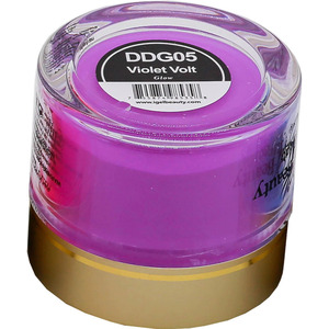 iGel Dip & Dap Powder - Glow in the Dark - DDG05 Violet Volt 2 oz. ()