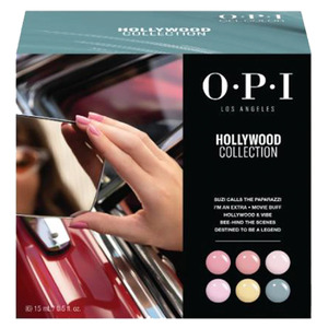OPI GelColor - GC303 Hollywood Add-On Kit #1 - 6 Pieces (GC303)