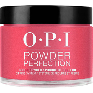 OPI Powder Perfection - Color Dipping Powder - #DPL72 - OPI Red 1.5 oz. (#DPL72)