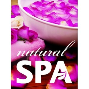 "Window Decal - Natural Spa 24"" x 36"" (ALA3S)"