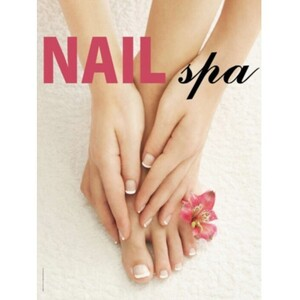 "Window Decal - Nail Spa 36"" x 48"" (ALA5B)"