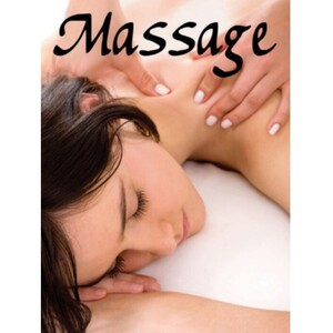 "Window Decal - Massage 36"" x 48"" (ALA8B)"