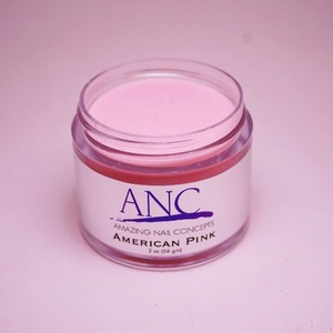 ANC Dip Powder - American Pink 2 oz. - part of the ANC Acrylic Nails Dipping System (ANCAP)