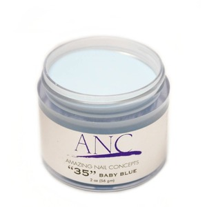 ANC Dip Powder - Babyblue #35 2 oz. - part of the ANC Acrylic Nails Dipping System (ANCCP035)
