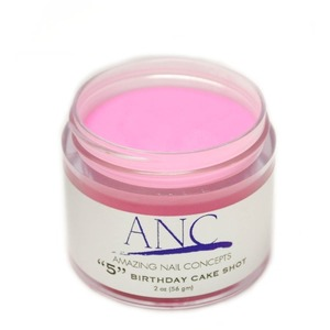 ANC Dip Powder - Birthday Cake Shot #5 2 oz. - part of the ANC Acrylic Nails Dipping System (ANCCP005)