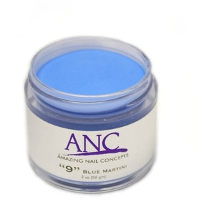 ANC Dip Powder - Blue Martini #9 2 oz. - part of the ANC Acrylic Nails Dipping System (ANCCP009)