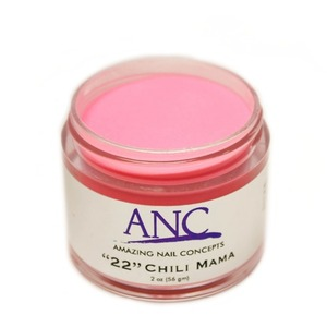 ANC Dip Powder - Chili Mama #22 2 oz. - part of the ANC Acrylic Nails Dipping System (ANCCP022)