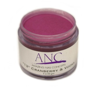 ANC Dip Powder - Cranberry And Vodka #13 2 oz. - part of the ANC Acrylic Nails Dipping System (ANCCP013)