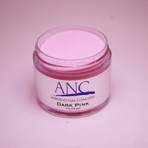 ANC Dip Powder - Dark Pink 2 oz. - part of the ANC Acrylic Nails Dipping System (ANCDP)