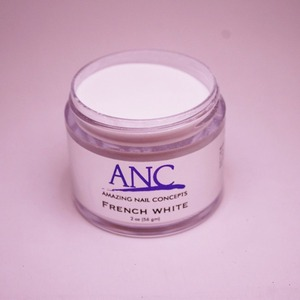 ANC Dip Powder - French White 2 oz. - part of the ANC Acrylic Nails Dipping System (ANCFW)