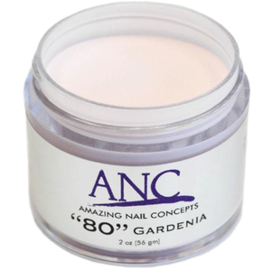 ANC Dip Powder - Gardenia #80 2 oz. - part of the ANC Acrylic Nails Dipping System (ANCCP080)