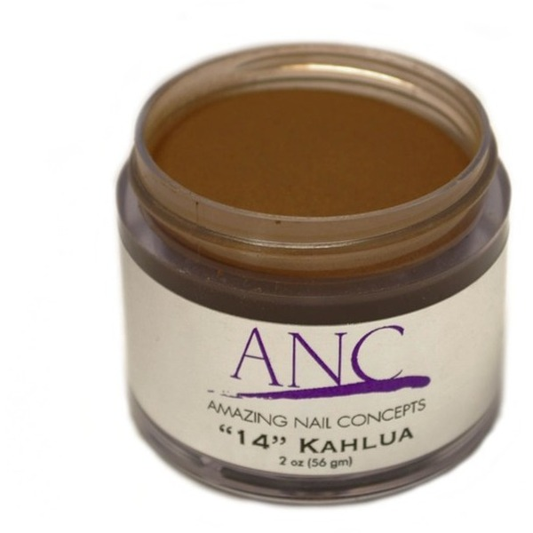ANC Dip Powder - Kahlua #14 2 oz. - part of the ANC Acrylic Nails Dipping System (ANCCP014)