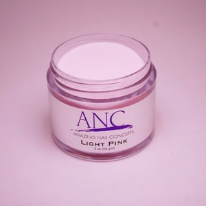 ANC Dip Powder - Light Pink 2 oz. - part of the ANC Acrylic Nails Dipping System (ANCLP)