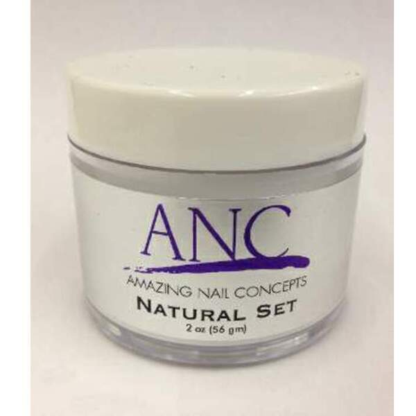 ANC Dip Powder - Natural Set 2 oz. - part of the ANC Acrylic Nails Dipping System (ANCNS)