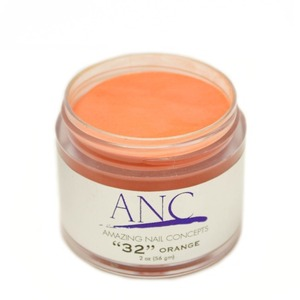 ANC Dip Powder - Orange #32 2 oz. - part of the ANC Acrylic Nails Dipping System (ANCCP032)