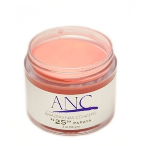 ANC Dip Powder - Papaya #25 2 oz. - part of the ANC Acrylic Nails Dipping System (ANCCP025)