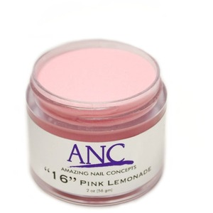ANC Dip Powder - Pink Lemonade #16 2 oz. - part of the ANC Acrylic Nails Dipping System (ANCCP016)