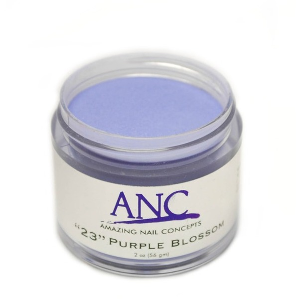 ANC Dip Powder - Purple Blossom #23 2 oz. - part of the ANC Acrylic Nails Dipping System (ANCCP023)