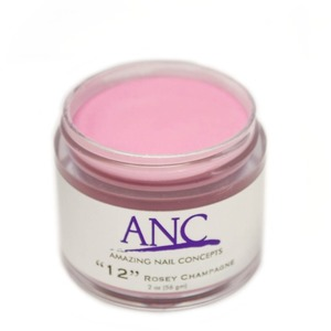 ANC Dip Powder - Rosey Champagne #12 2 oz. - part of the ANC Acrylic Nails Dipping System (ANCCP012)