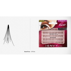 iENVY Eyelash Extenstions - Long Black Pack - 70 Flares (0731509601213)