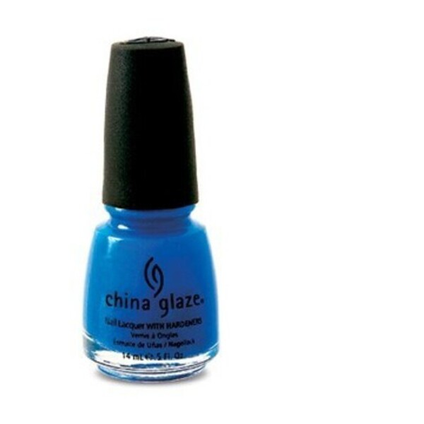 China Glaze Lacquer - BLUE SPARROW 0.5 oz. - #1010 (CG1010)