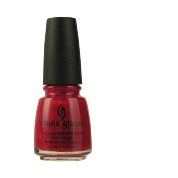 China Glaze Lacquer - CHINA ROUGE 0.5 oz. - #711 (CG711)