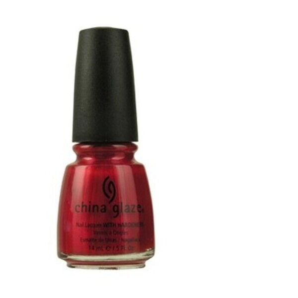 China Glaze Lacquer - RED PEARL 0.5 oz. - #712 (CG712)